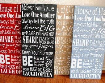 Personalized Family Rules