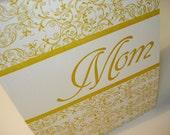 Single, Sunshiny Mothers Day Letterpress Card