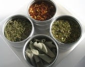 small italian spice kit with recipes. recreate the flavors of bellisima Italy.