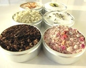 artisanal baking and dessert salts kit. sweet and savory flavors for your home baked treats.