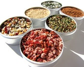 grilling BBQ rubs kit. small fish and seafood gourmet rubs kit.