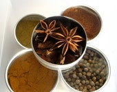 medium Indian spice kit with recipes. Experience the flavors of India at home.