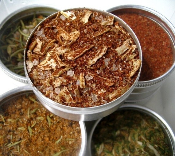 the grill guru gourmet bbq blends. a great gift for him.