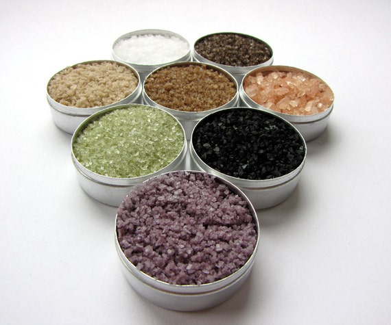 origin sea salts. 8 gourmet salts from around the globe. great gift for a cook or gourmet.