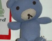Cashmere Sweater Bear Blue