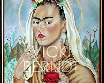 St Frida Painting