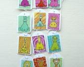 Animal Gift Tags   Set of 12