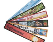 50 Banner Bookmarks 8.25 by 1.375 inches