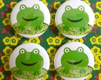 Frog Magnets (Set of 4)