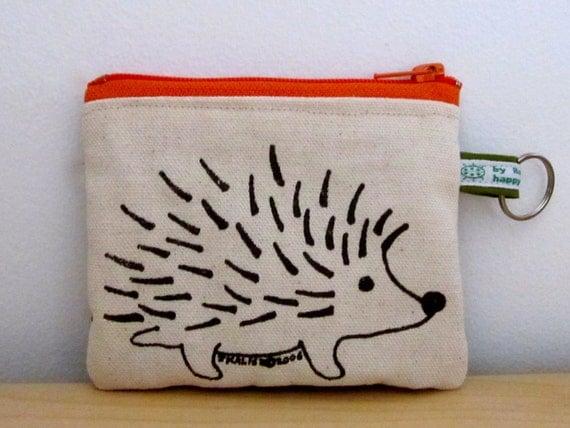 Hedgehog Change Purse