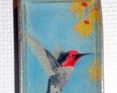 Humming Bird Jewelry  (1 x 3/4) Sterling Silver