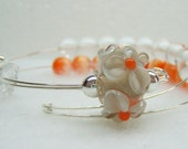 Marigold Row Counter Bracelet for Knitting or Crochet
