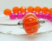 Summer Sizzle Row Counter Bracelet for Knitting or Crochet