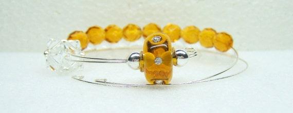 Bea's Honey Row Counter Bracelet