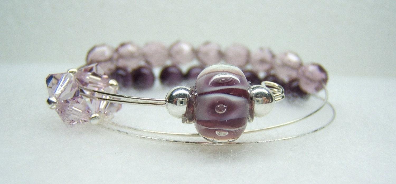 Knitting Row Counter Bracelet : Ballroom dance row counter bracelet for knitting or crochet