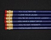 Reasons I Love You - Pencil Set (Dark Blue)