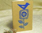 Blauer Vogel Notebook