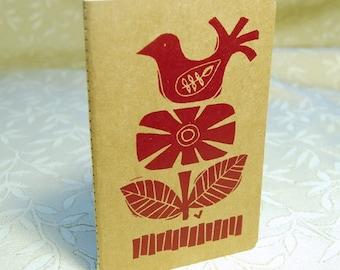 Bird and Flower Notebook