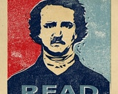 Edgar Allan Poe Print - The READ series