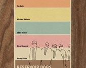 Reservoir Dogs 16x12 Movie Poster