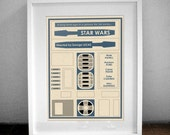 Star Wars Movie Poster - 16x12