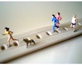 Joggers - 6x4 Miniature Photography