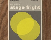 Alfred Hitchcock Stage Fright Movie Print