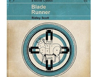 6x6 Classic Vintage Movie Print - Blade Runner