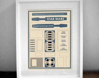 Star Wars Movie Poster - 16x12