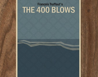 The 400 Blows 16x12 Movie Poster