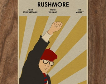 RUSHMORE 16x12 Movie Poster Print