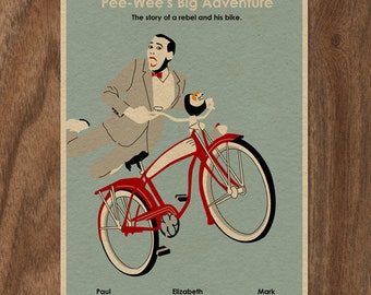 22x16 Movie Poster - Pee-Wee's Big Adventure