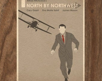 North By Northwest 22x16 Movie Poster