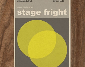 Alfred Hitchcock Stage Fright 16x12 movie poster print