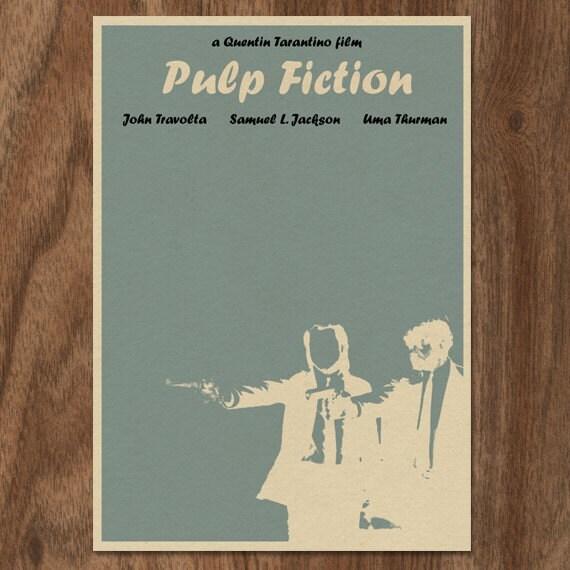Pulp Fiction 16x12 Movie Film Poster