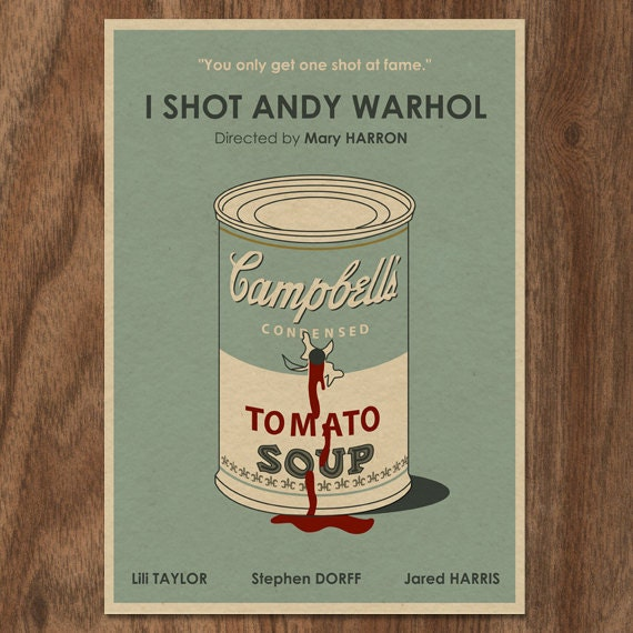 I Shot Andy Warhol 16x12 Movie Poster