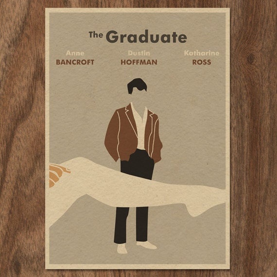 16x12 Movie Poster Print - The Graduate