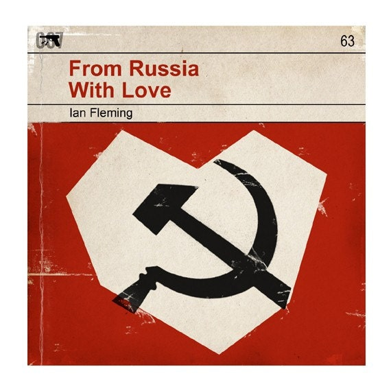 from russia with love book report Read this book review for free  himself about halfway through from russia with  love, the fifth and perhaps the best of ian fleming's thrillers.