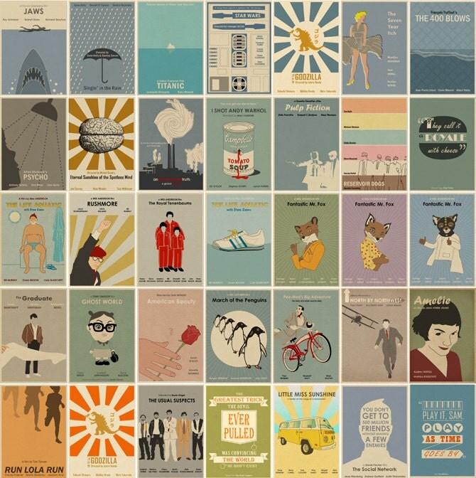 Movie Art Prints Pop Culture Art Prints