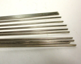 Steel Mandrels for Glass Bead Making - 1 dozen 3/32 inch diameter
