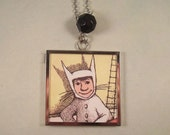 Where the Wild Things Are (reversible necklace)