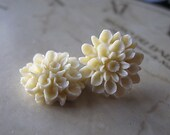 Flower Post Earrings,  Brides On A Budget  Bridesmaid Gift, You Choose Your Color