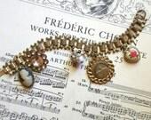 Shabby Chic Charm Bracelet