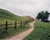 Viking Burial Mounds, Gamla Uppsala, Sweden