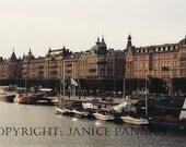 Harbor - Stockholm, Sweden