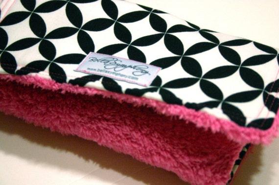 PDF-Boutique Minky Burp Cloths-PDF ePATTERN
