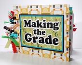 Scrapbook Mini Album, Back to School, Making the Grade