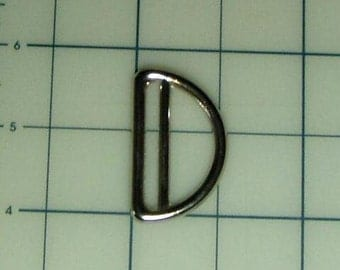 "24 - 1.5"" Double  D RING Stainless Steel for Webbing for Straps on Purses, Bags, Belts Hardware"