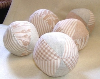 Organic Cotton Play or Decorative Ball