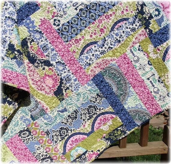 my secret garden lap quilt